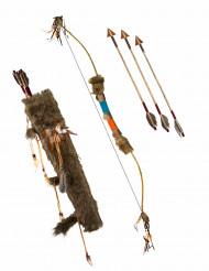 Bue med pile indianer luksus 90 cm