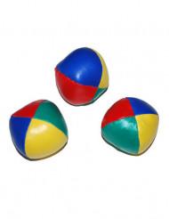 3 bolde jonglering flere farver 6 cm