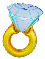 Kæmpe ballon diamantring 105 cm