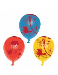 Balloner 6 stk. blodig Halloween