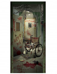Dekoration dør blodig Halloween