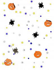 Konfetti græskar og edderkopper Halloween