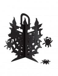 Borddekoration lysekrone med edderkopper