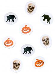 Konfetti til bord Halloween