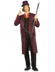 Kostume voksen Willy Wonka Charlie og chokoladefabrikken™