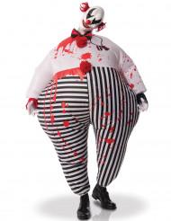 Kostume moderisk klovn oppustelig til voksne