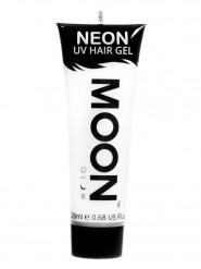 Gel hår neon hvid UV 20 ml Moonglow