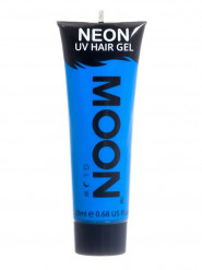 Gel hår neon blå UV 20 ml Moonglow