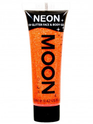 Gel ansigt og krop orange pailette UV 12 ml Moonglow