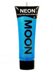 Gel ansigt og krop blå pailette UV 12 ml Moonglow