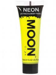 Gel ansigt og krop gul selvlysende UV 12 ml Moonglow©
