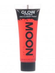 Gel ansigt og krop rød selvlysende 12ml Moonglow ©