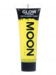 Gel ansigt og krop gul selvlysende 12ml Moonglow ©