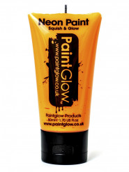 Gel ansigt og krop neon orange UV 50 ml