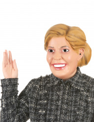 Humoristisk latexmaske dronning Maxima til voksne