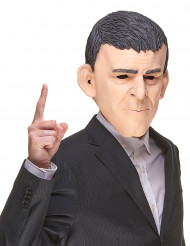 Humoristisk latexmaske Manuel Valls til voksne