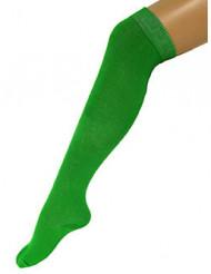 Strømper lange grønne 53 cm til voksne