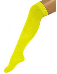 Strømper lange gule 53 cm til voksne