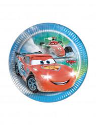 8 Små paptallerkener Cars Ice Racers™ 19,5 cm