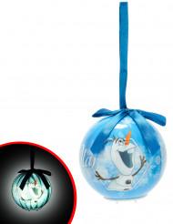 Olaf julekugle med lys 7.5 cm - Frost™