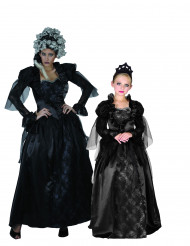 Parkostume gotisk grevinde til mor og datter