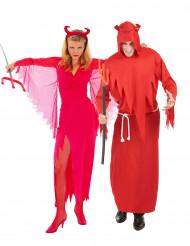 Parkostume Djævle røde til Halloween