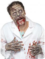 Zombiekit med maske og hænder - Halloween