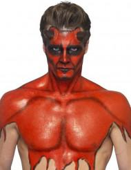 Makeup latex flydende rød med svamp 59 ml