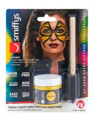 Makeup latex flydende gul med svamp 59 ml