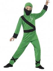 Kostume Grøn ninja drenge