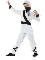 Kostume hvid ninja drenge