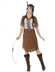 Kostume med frynser squaw dame