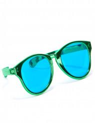 Grønne gigantiske briller til voksne
