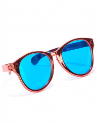 Røde gigantiske briller til voksne