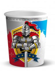 8 Papkrus med riddere