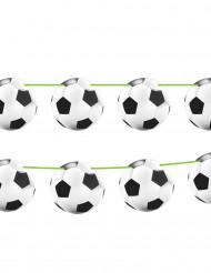Guirlande med fodbolde 10 meter