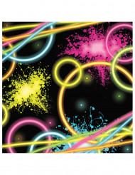 16 Servietter - Glow Party