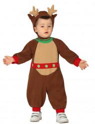 Kostume lille rensdyr til baby jul