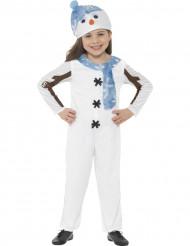 Kostume heldragt snemand til børn jul