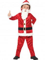 Kostume Julemanden med stor mave og lydchip til børn