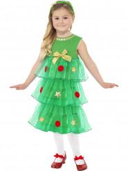 Kostume kjole grantræ til piger Jul