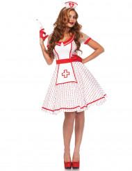 Kostume sygeplejerske retro til kvinder