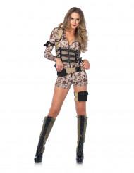 Sexet militær kostume dame