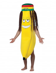 Rastafari banan kostume voksen banan kostume voksen