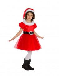 Kostume julemandens kone til piger - Premium