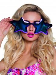Kæmpebriller stjerner til voksne 27 cm
