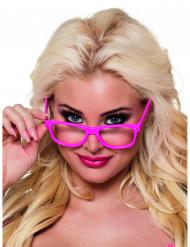 4 par briller neon pink til voksne