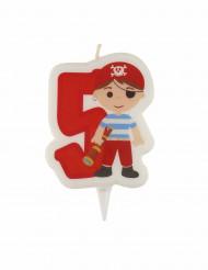 Fødsesdalgslys pirat 5 år
