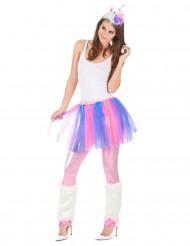 Kostume Enhjørning Multifarvet Dame