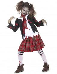 Kostume zombie skolepige